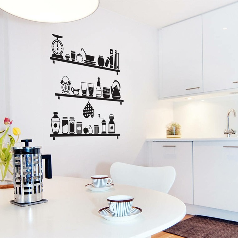 Decorar Paredes De Cocina - Diseños Arquitectónicos - Mimasku.com