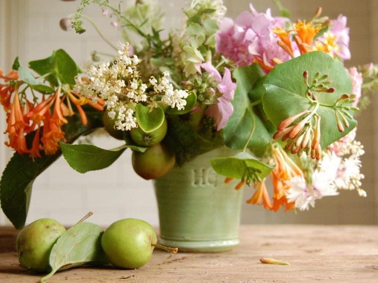 Ramos de flores y arreglos florales para decorar el hogar for Decoracion con plantas para fiestas