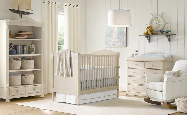 armario estanterias ideas mobernas habitacion bebe lmpara