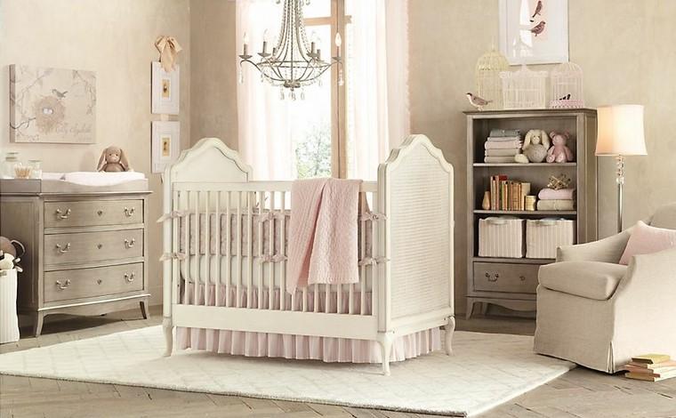 decoracin de bebe color blanca cuna moderna with accesorios habitacion bebe
