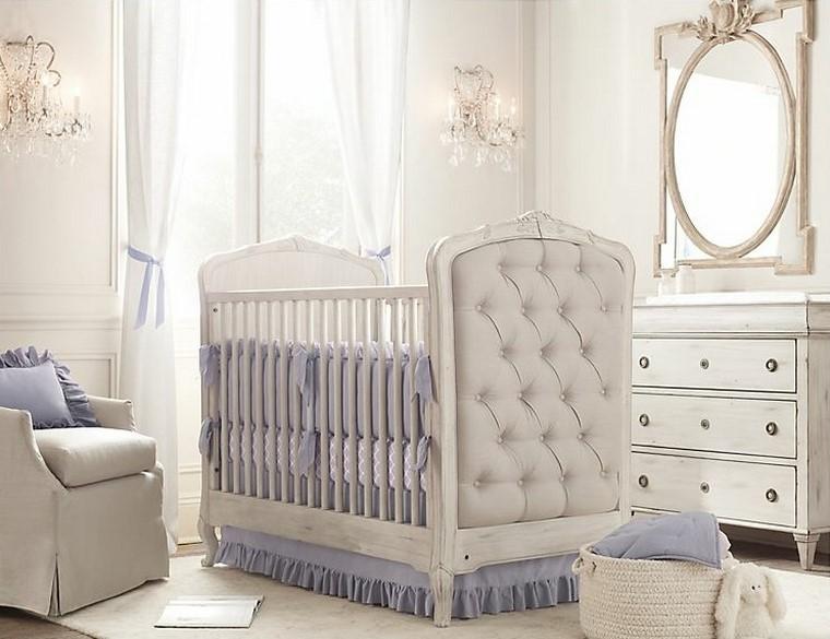 decoracin de bebe colores claros azul precioso