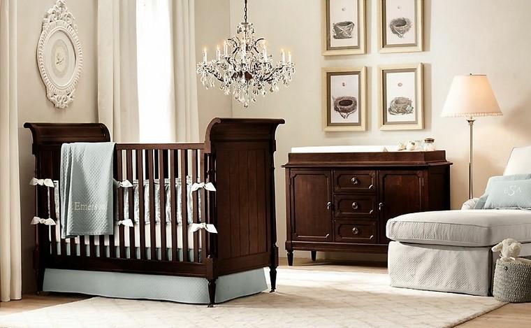 Decoraci n habitaciones de bebe preciosas for Lamparas cuarto bebe