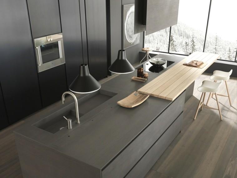 decoración de interiores cocinasestilo minimalista ideas
