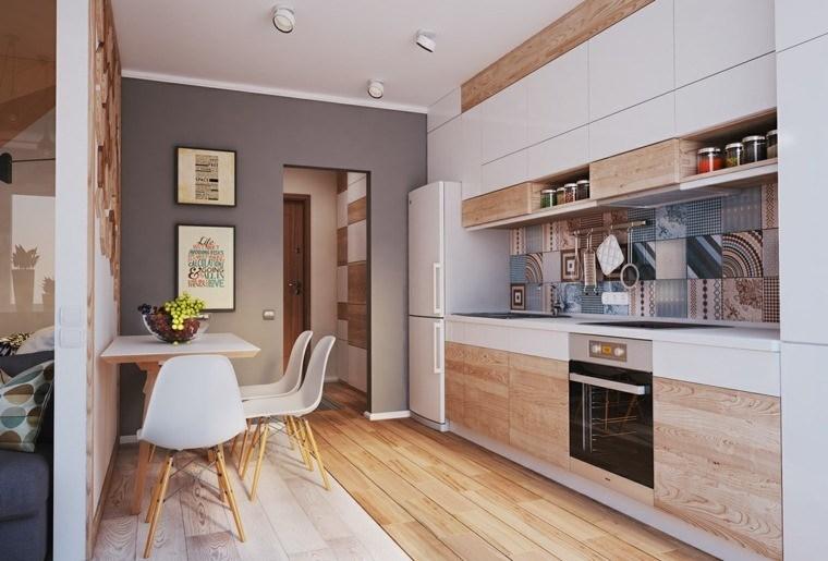 Decoraci n de interiores cocinas modernas con estilo - Decoracion de suelos interiores ...