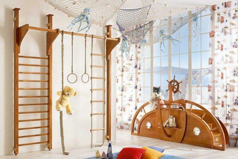 decoracion juguetes marinos habitacion ninos ideas