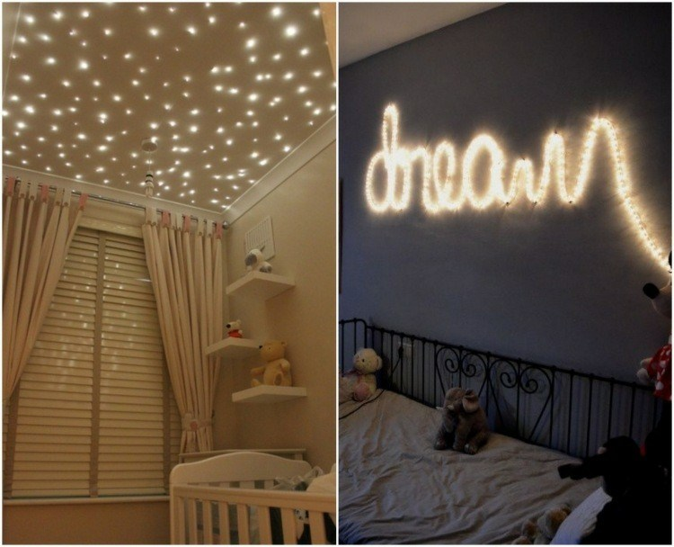 Decoracion de casas modernas 50 ideas creativas - Luces para dormitorio ...