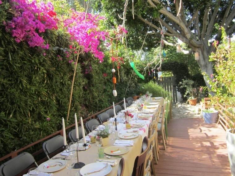 Party en el jard n 50 ideas para decorados de fiestas for Como organizar un jardin grande