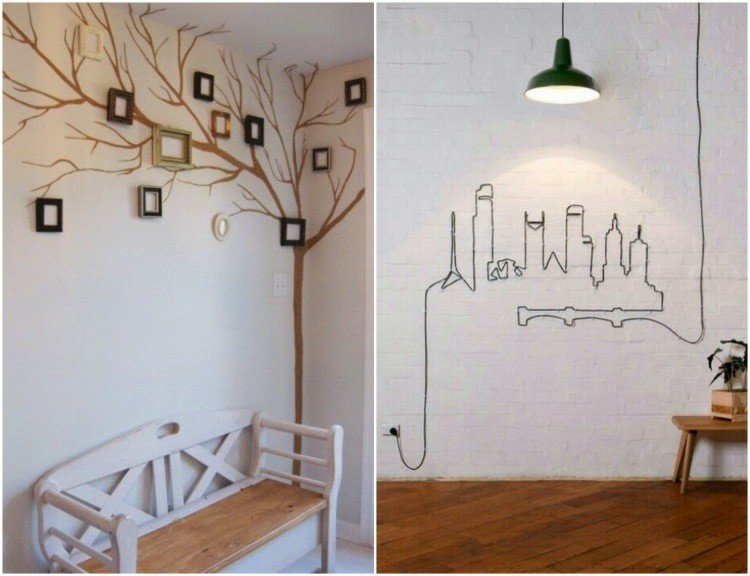 Decoracion de casas modernas 50 ideas creativas for Decoracion pared metal