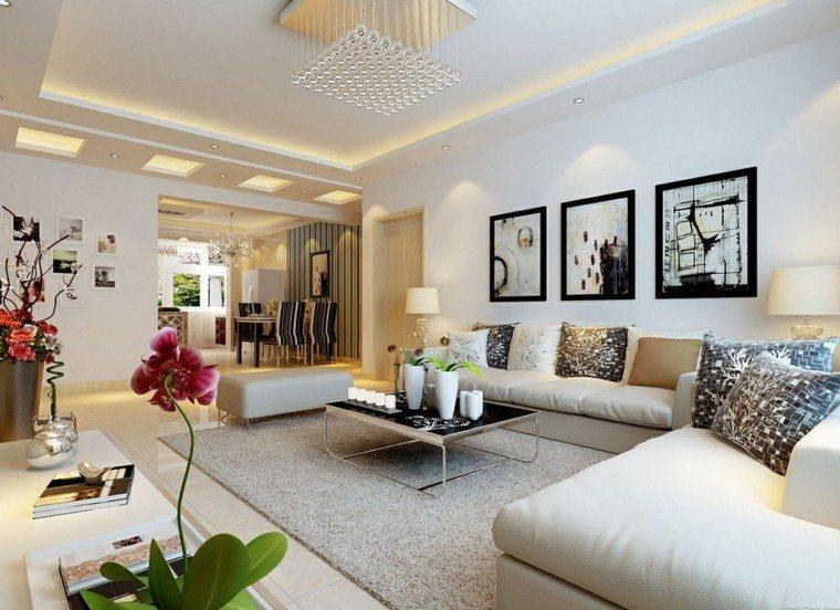Decorar salon de un modo creativo ideas a tu alcance - Consejos para decorar un salon ...
