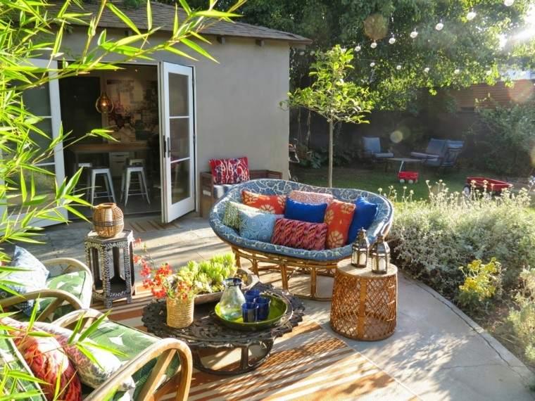verano decorativo jardin idea verano plantas