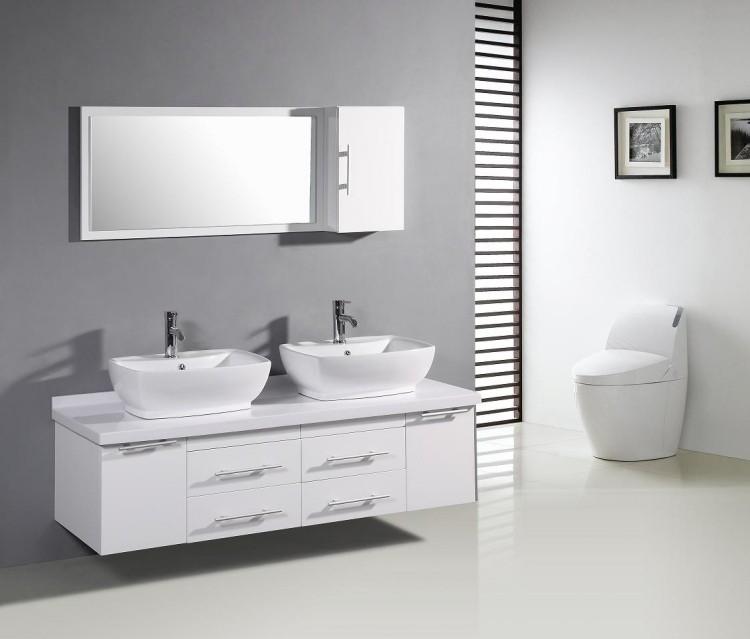 lavabos sobre encimera de diseo moderno