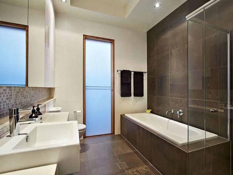 Diseno De Baño Rectangular:Diseño moderno de revestimientos para baños