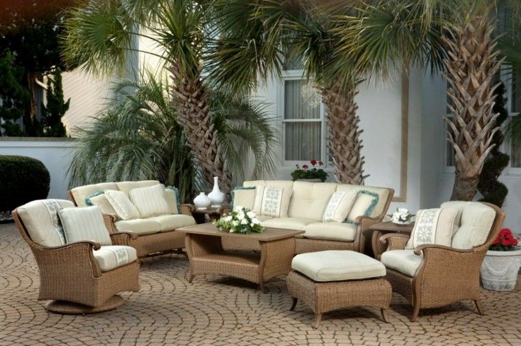 diseño estilo clasico muebles jardín