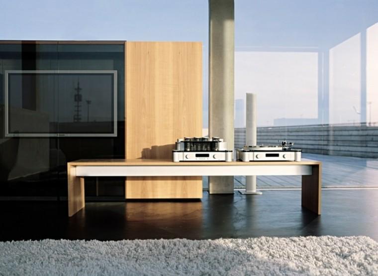 diseño cocina estilo minimalista alfombra