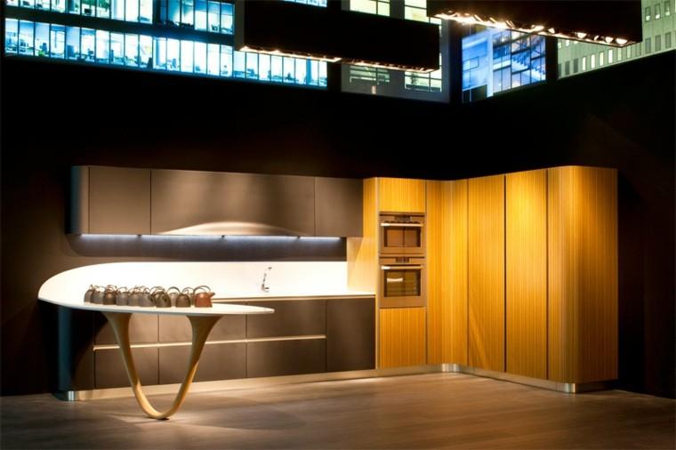 diseño de cocinas modernas teteras