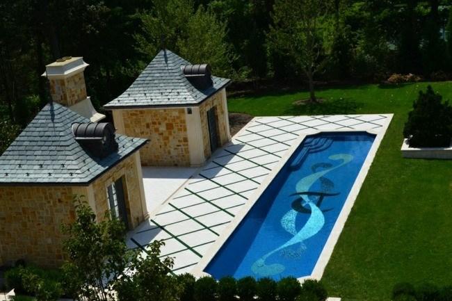 diseño construccion piscina dibujos fondo