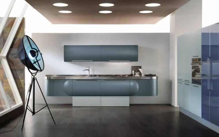 diseño de cocinas futuristas