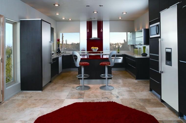 diseño de cocinas alfombra roja