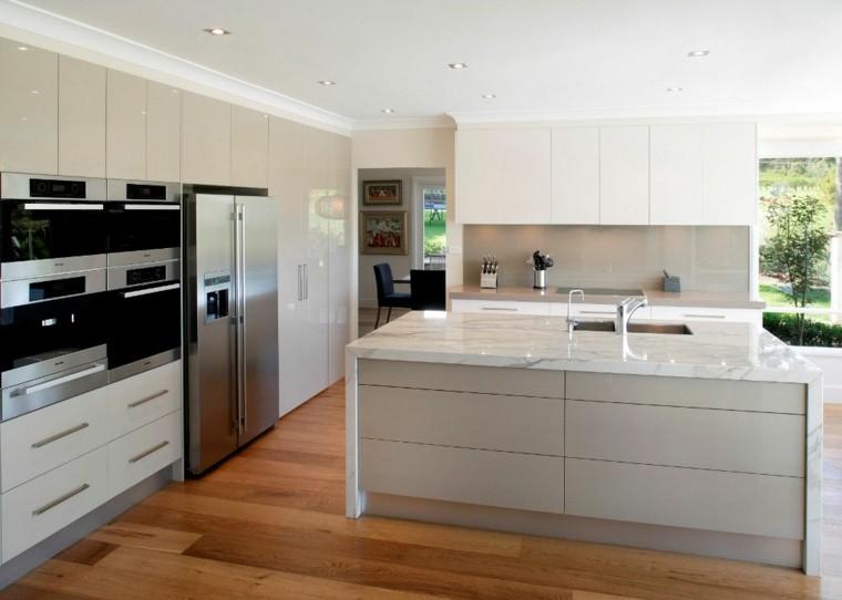 diseño de cocinas brillo funcional gavetero