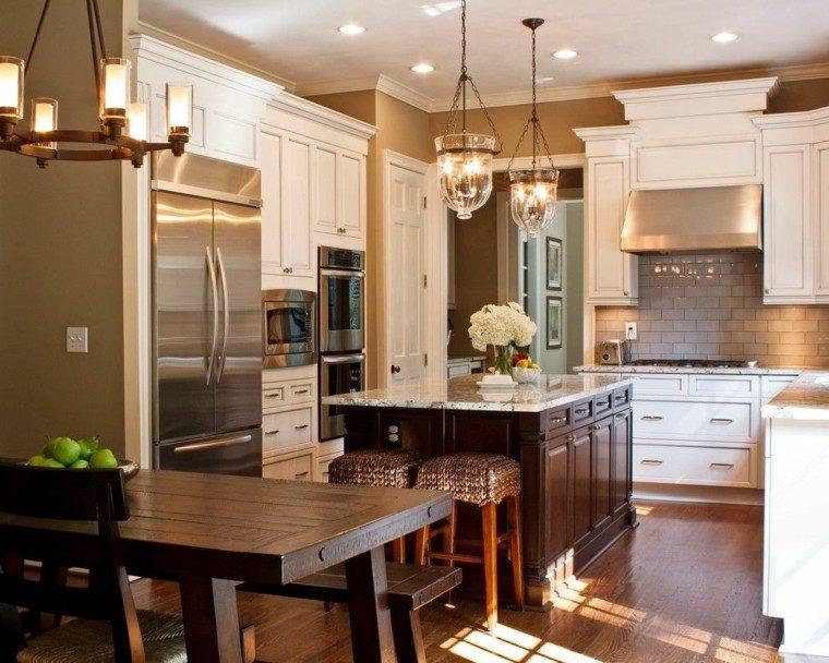 Diseño de cocinas - lo esencial para hacerlas funcionales.