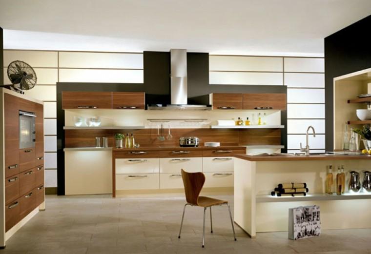 diseño de cocinas madera muebles diseño