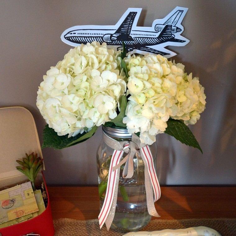 diseño diy avion vuelo suculenta