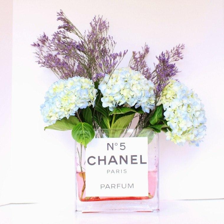 diseño diy perfume envase chanel