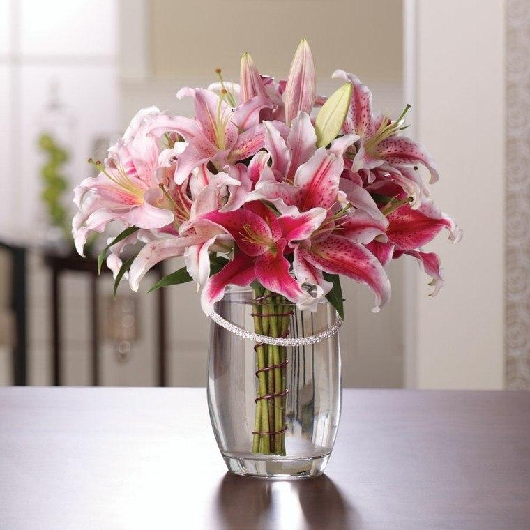diseño diy vidrio flores sillas jarron