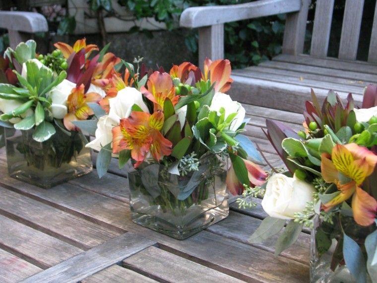 diseño diy vidrio mesa patio fiestas