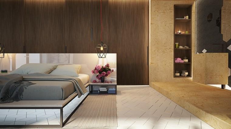 Dormitorios de matrimonio 8 dise os muy creativos - Disenos para habitaciones ...