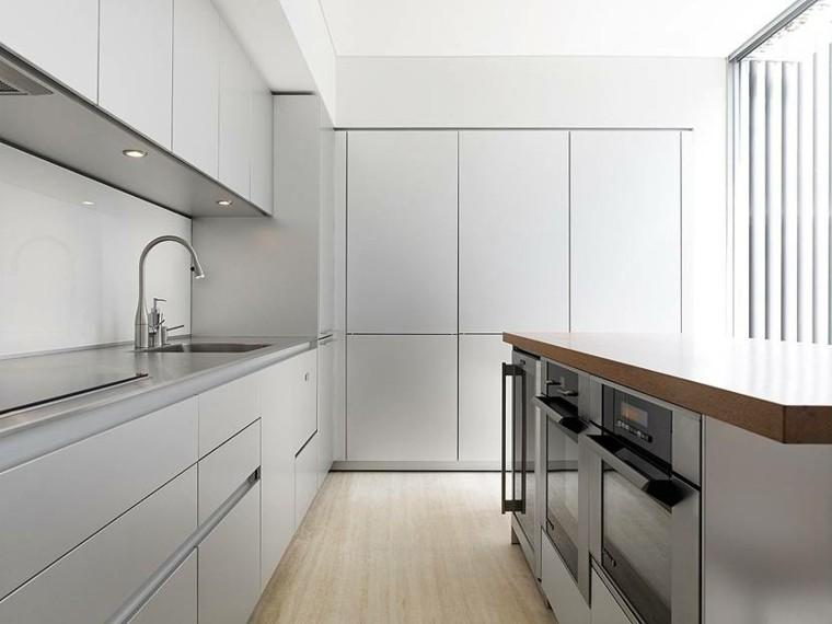 diseño estilo futurista cocina moderna