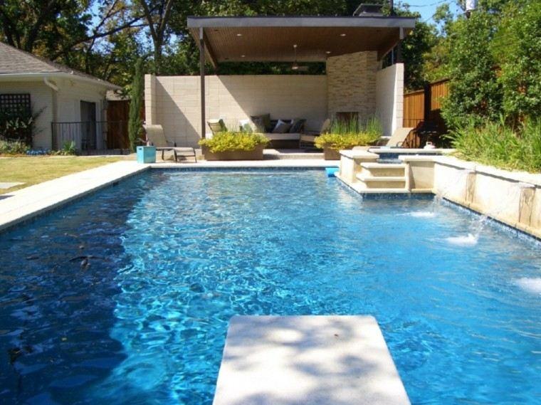 diseño jardin moderno mirador pergola