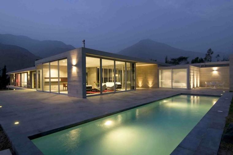 diseño estilo minimalista jardines modernos