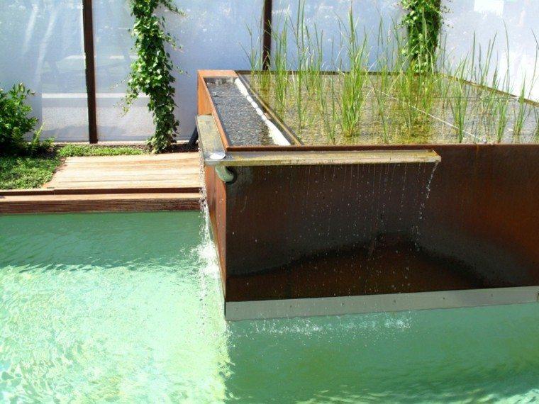 modern design waterfalls bio garden