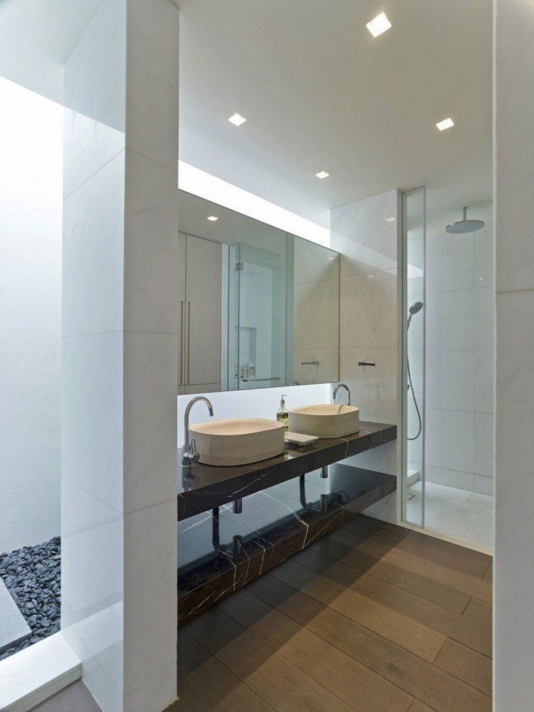 diseño estilo moderno mueble lavabo