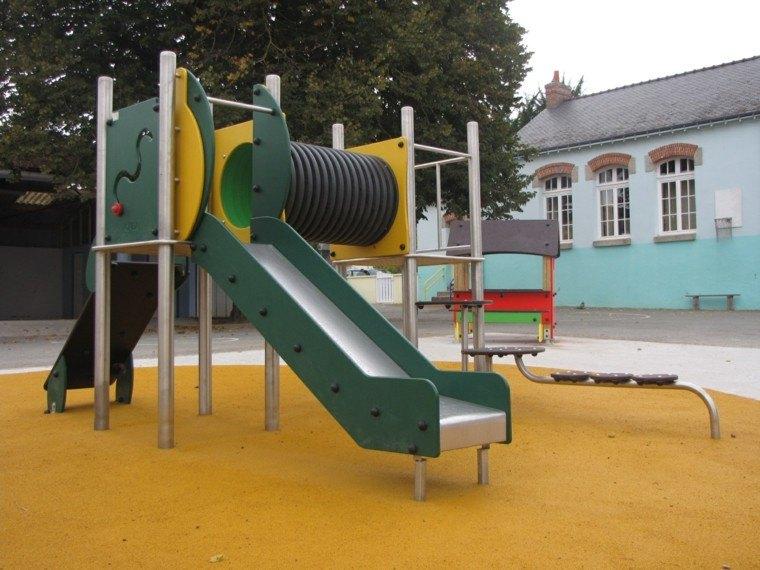 diseño moderno zona juegos infantil