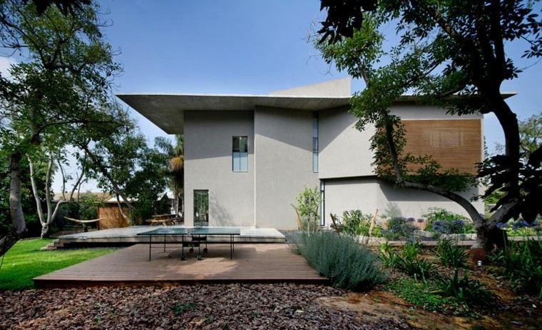 diseño paisaje casas modernas