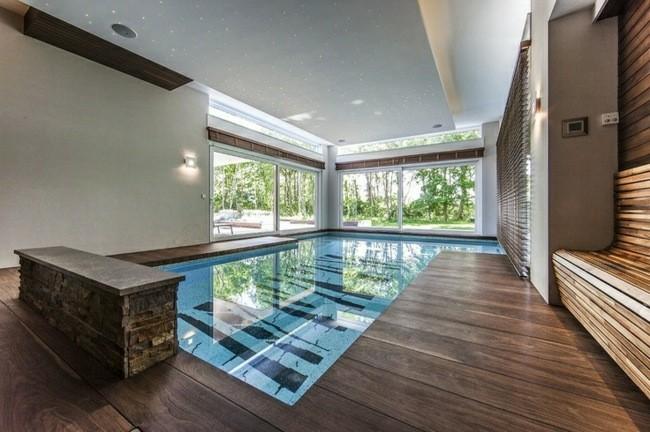 diseño piscinas interior dibujos fondo