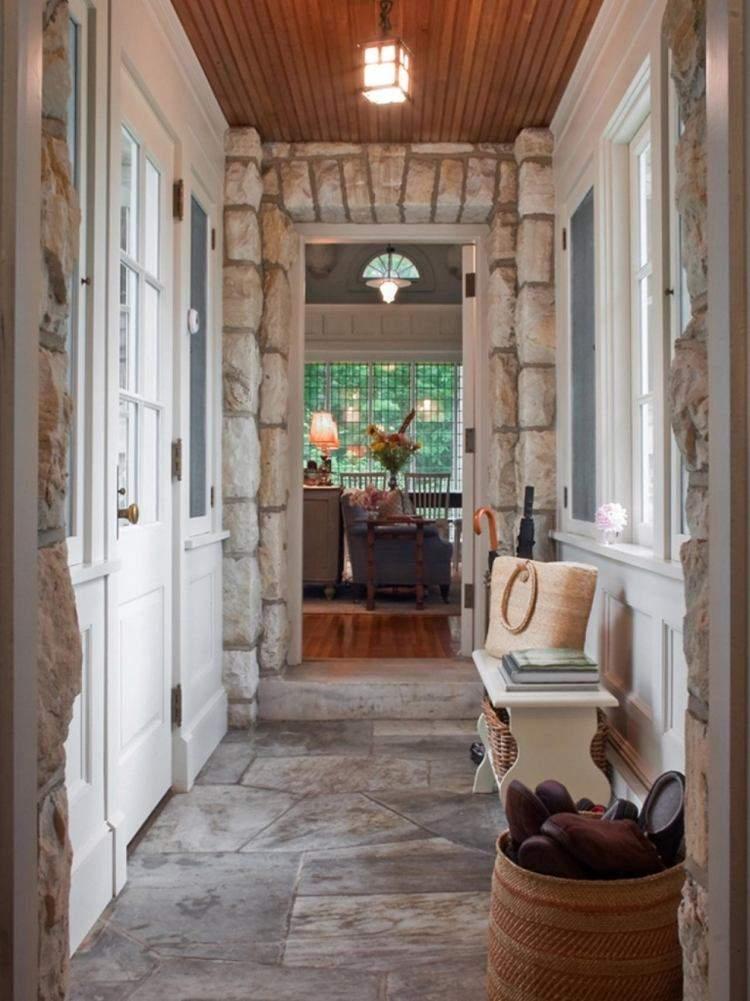 diseño recibidores entradas piedra natural