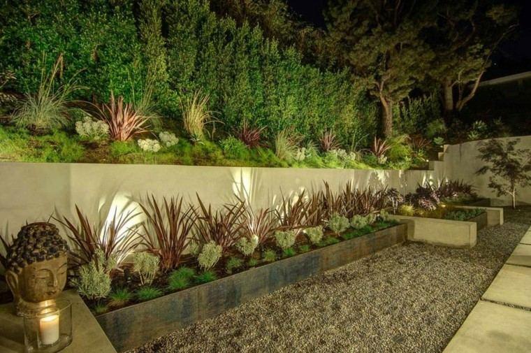 diseño jardin estilo oriental  zen