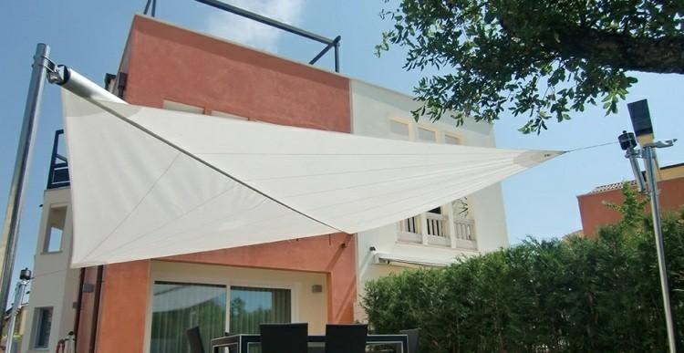 Toldos y parasoles de dise o moderno 50 ideas - Carpas y pergolas ...