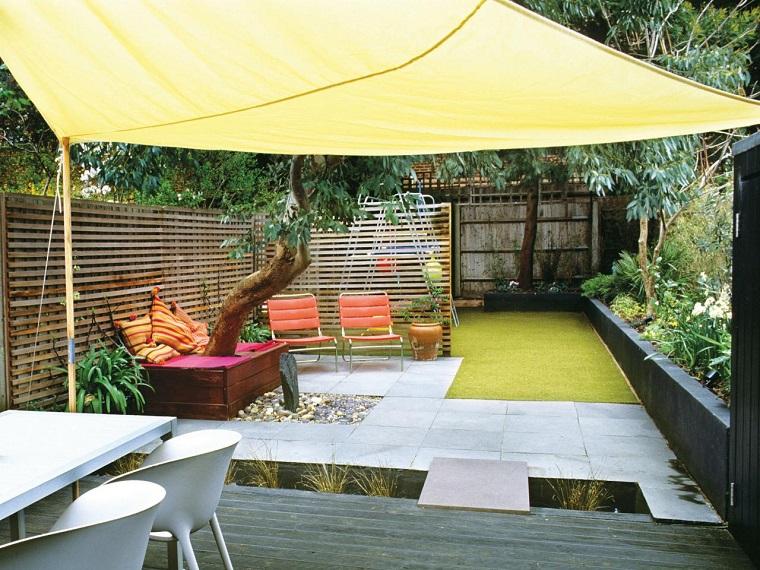 Dise o de jardines peque os grandes ideas para el jard n - Diseno pisos pequenos ...