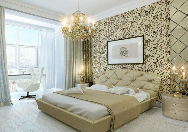dorado lujo pared decoracion lampara