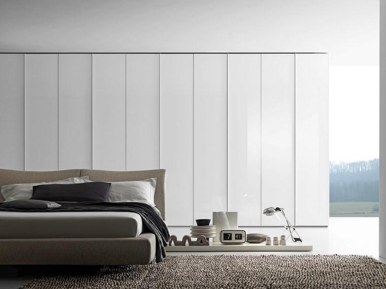 dormitorio cama baja estilo minimalista precioso ideas
