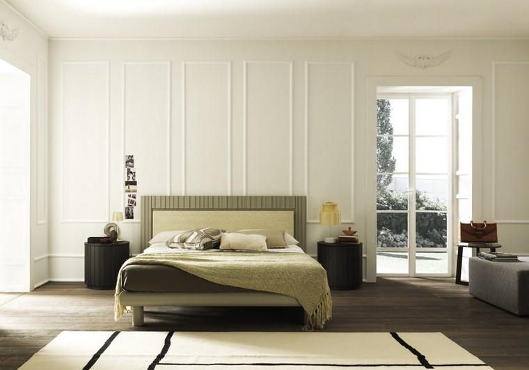 dormitorio estilo clasico mesitas noche preciosas ideas