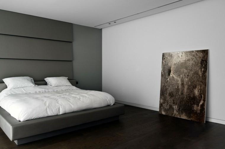 dormitorio estilo moderno cuadro suelo