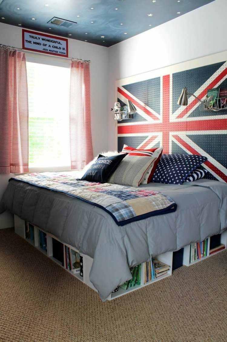 dormitorio moderno diseño juvenil uk