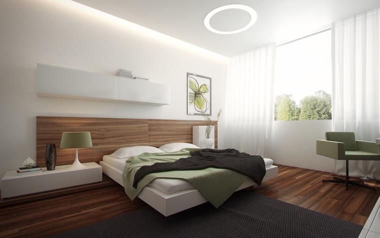 dormitorio sueños moderno elementos verdes