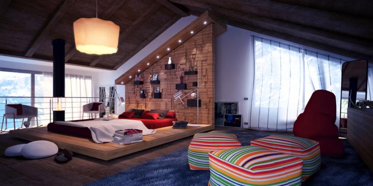 dormitorio sueños moderno techo maedra