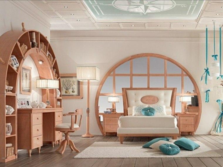 dormitorio muebles madera cama grande ideas